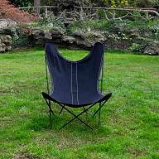 fauteuil butterfly aa airborne housse coton toile fauteuils mobilier caravane fs. Black Bedroom Furniture Sets. Home Design Ideas